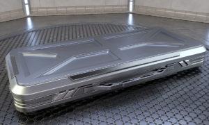 Free 3D Sci-fi Military Case Model