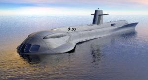 Free 3D Sci-fi Submarine Model