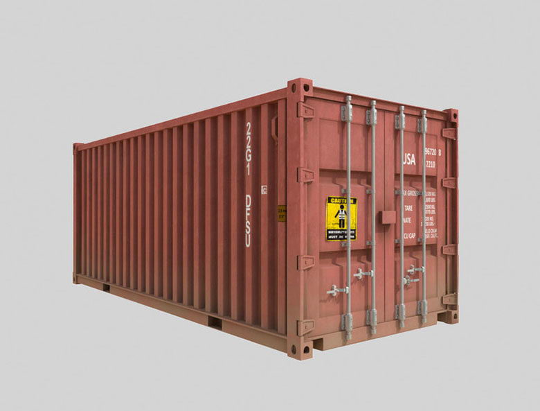 Free 3D Shipping Container Model