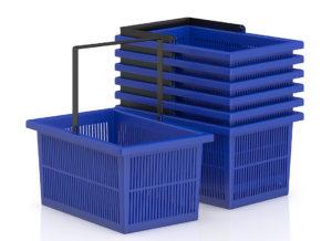 Free 3D Shopping Baskets 3D Model