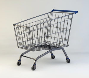 Free 3D Shopping Cart Model
