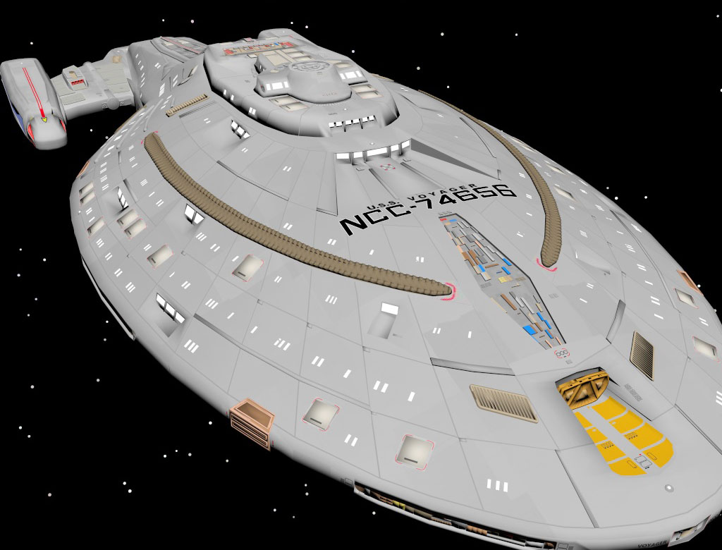 Free 3D Spaceship Model - Free C4D Models