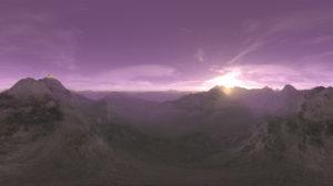 Free 3D Sunset Sky HDR