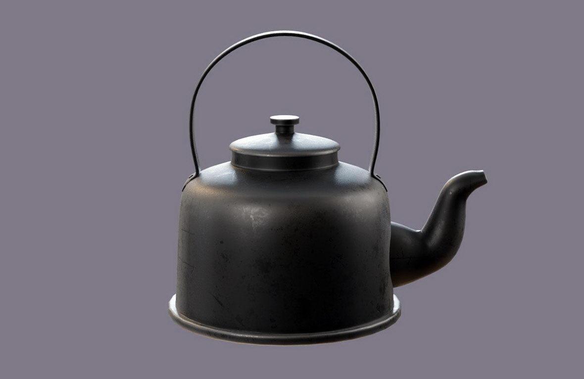 Free 3D Vintage Teapot