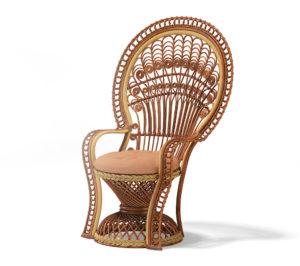 Free 3D Luxury Wicker Chair Model