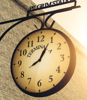 Free Cinema 4D Outdoor Vintage Clock
