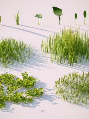 Free Plant Pack 3D Models