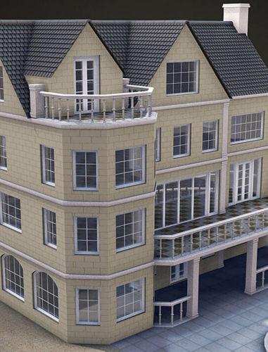 Free Cinema 4D Buildings - Free C4D Models
