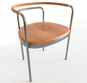 Free Wooden Chair 3D Model