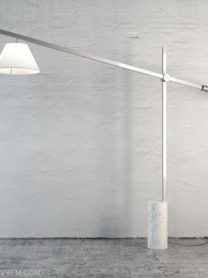 Functional Floor Lamp 3D Model