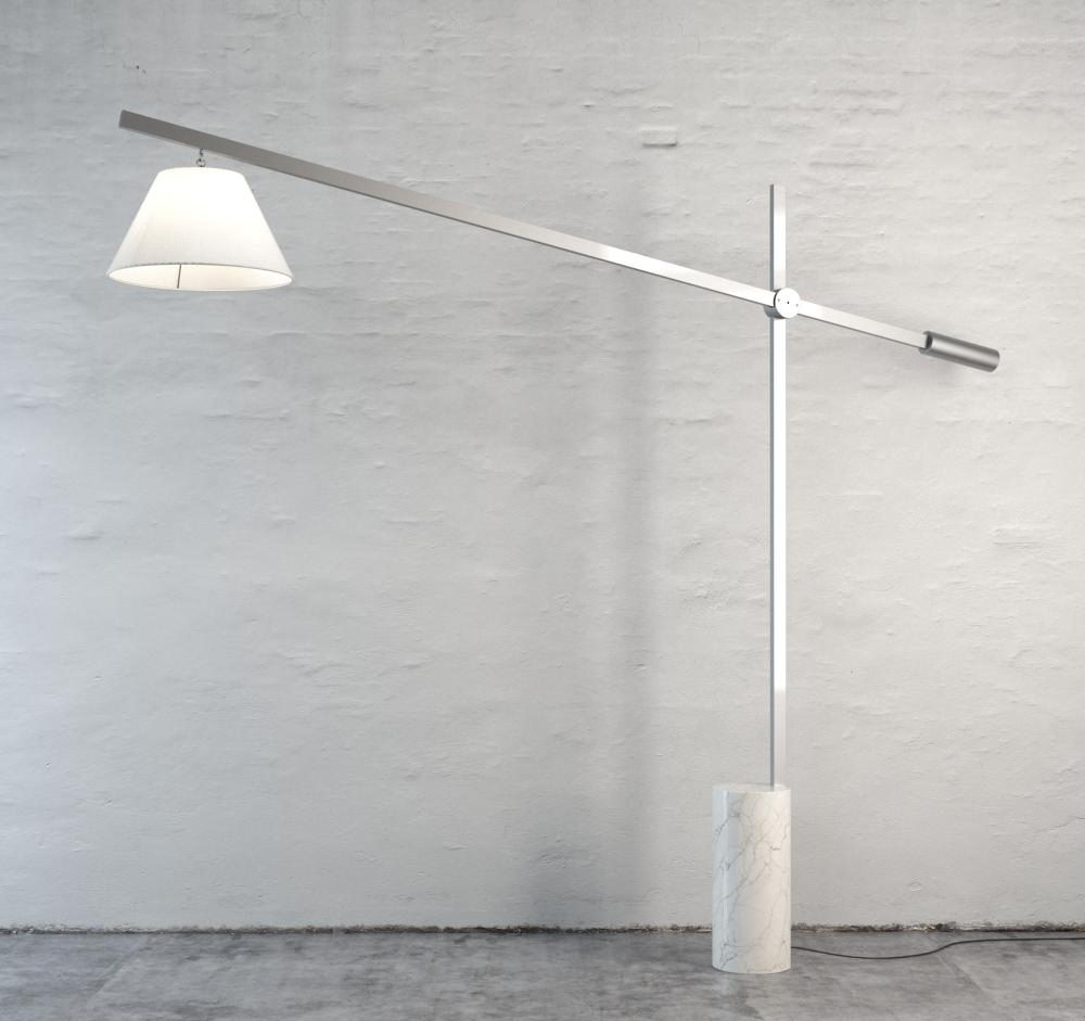 Functional Floor Lamp 3D Model