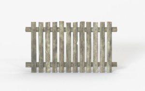Garden Wood Fence 3D Model