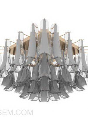 Glass Chandelier 3D Model
