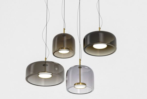 Glass Design Pendant Light 3D Model