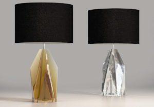 Glass Design Table Lamp 3D Model