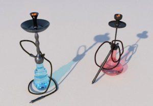 Glass Hookah 3D Model