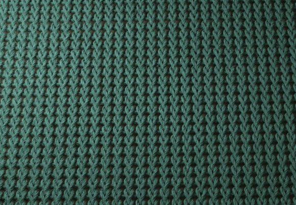 Green Knitting Texture 3D Model