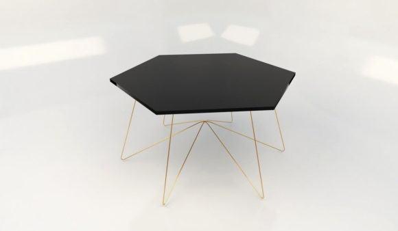 Hexagen Coffee Table 3D Model