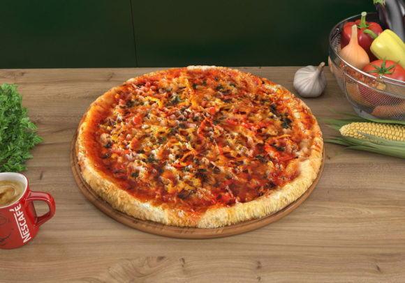 High Quality Pizza 3D Model