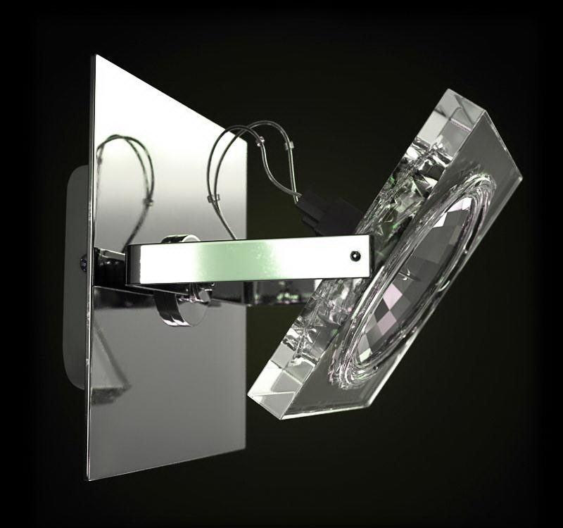 High-Tech Wall Light 3D Model