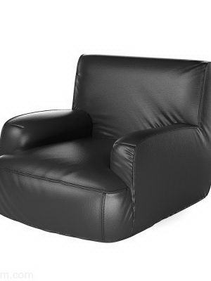 Highly Detailed 3D Armchair Model