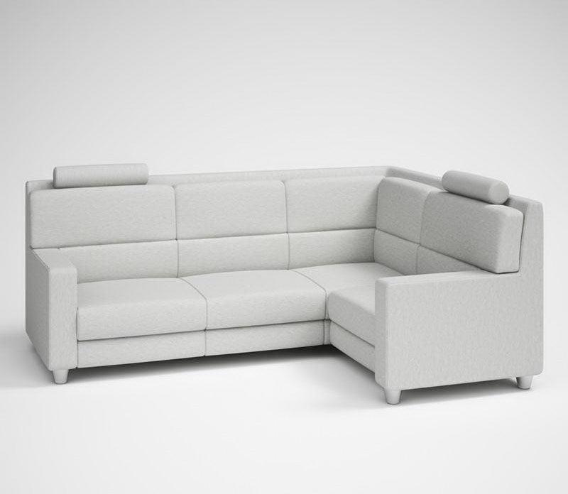 Highly Detailed Corner Sofa 3D Model