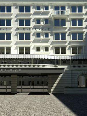 Hotel Design Exterior Scene