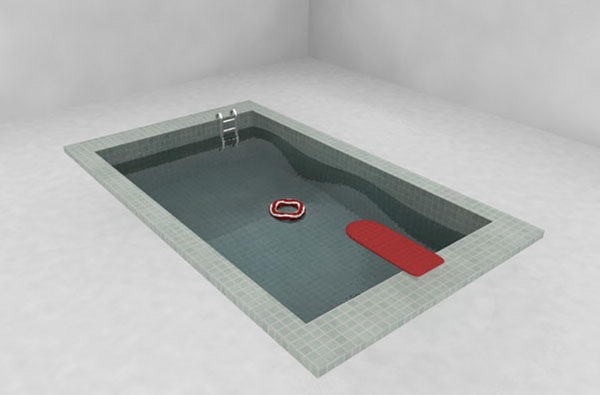 Indoor Small Pool 3D Model
