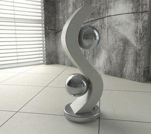 Interior Decorative Element 3D Model
