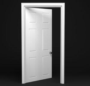 Interior Door Free 3D Model