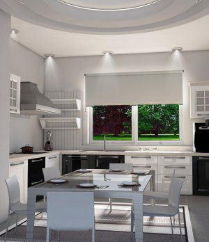 Interior Kitchen Scene 3D Model