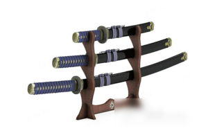 Japan Swords Decoration 3D Model