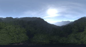 Jungle Sky Free Hdr
