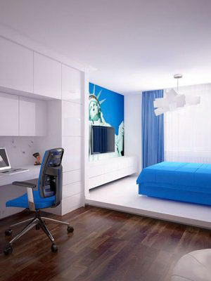 Kids Room Interior Scene for Cinema 4D
