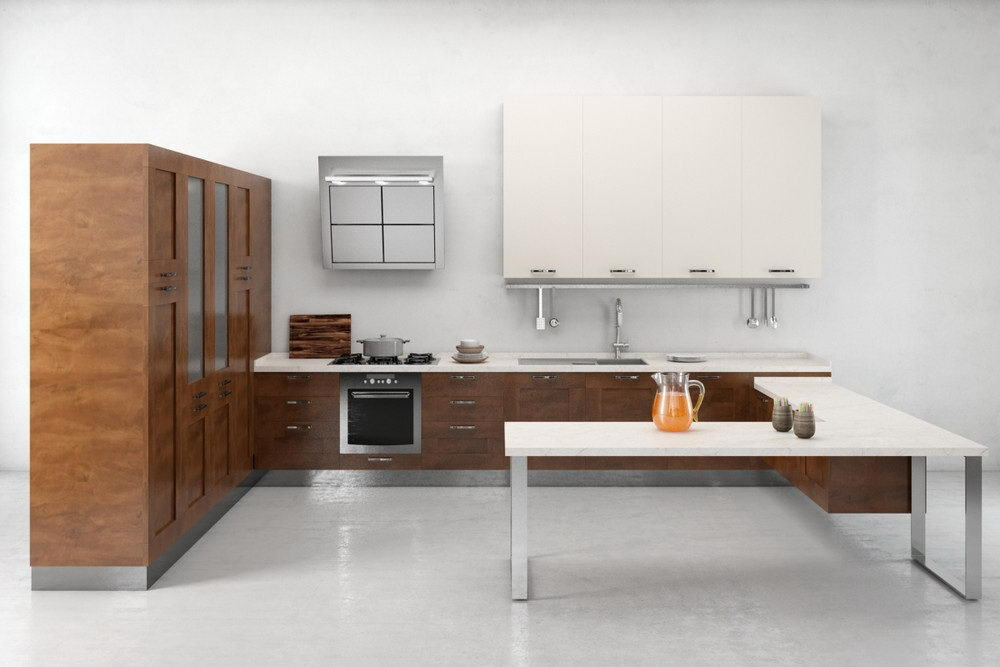 Kitchen Design With Corner Table