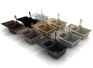 Kitchen Sink Set Free 3D Model