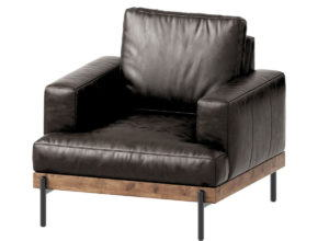 Leather Arm Chair 3D Model