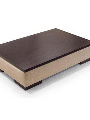 Leather Coffee Table 3D Model