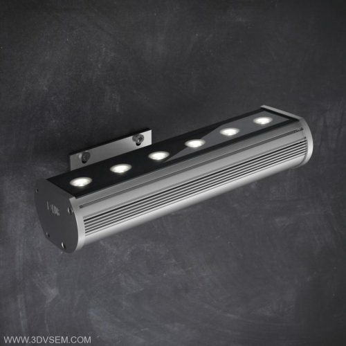 Led Wall Lamp 3D Model - C4D Download