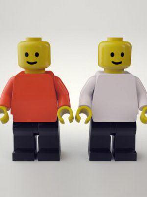 Legoman Toy 3D Model