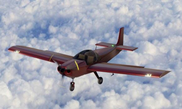 Light Sport Aircraft 3D Model