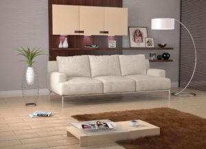 Living Room 3D Interior Scene