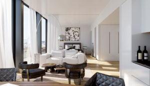 Living Room Free 3D Interior Scene