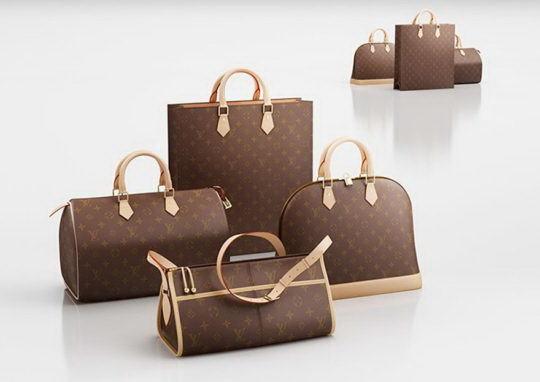 Louis Vuitton Woman Hand Bags 3D Model - Free C4D Models