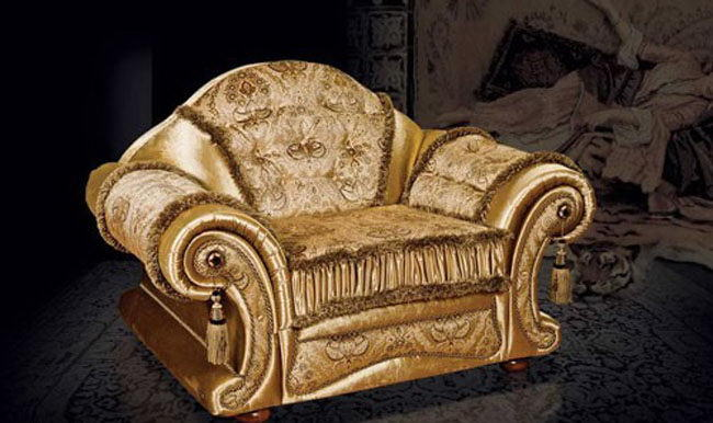 Luxury Armchair 3D Model - C4D Download
