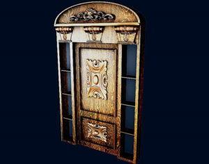 Luxury Exterior Door 3D Model
