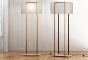 Luxury Floor Lamp Free 3D Model