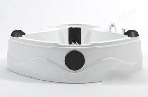 Luxury Jacuzzi 3D Model