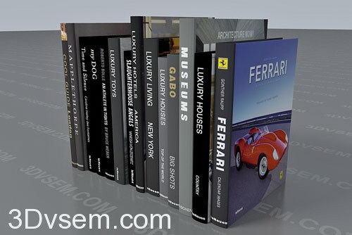 Luxury Magazine 3D Model