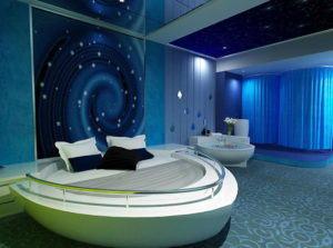 Luxury Ship Hotel 3D Interior Scene